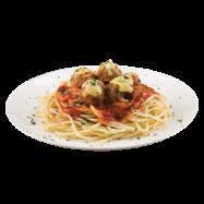 Meatball Marinara Spaghetti