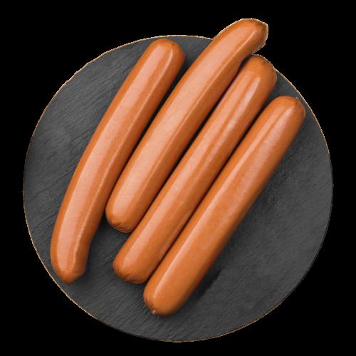 Meaty Frankfurter Beef Sausage