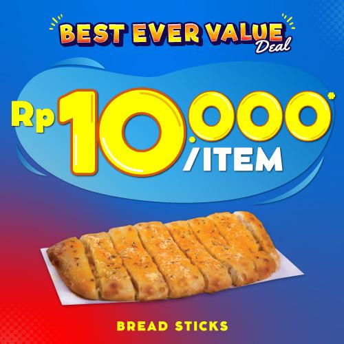 1 Bread Sticks 10 Ribu