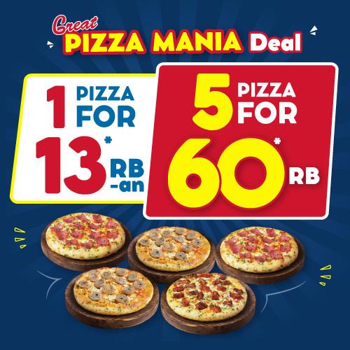 5 Pizza Mania 60 Ribuan