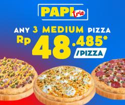 Paket Pizza Trio