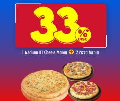 1 Cheese Mania & 2 Pizza Mania HANYA 71 Ribuan