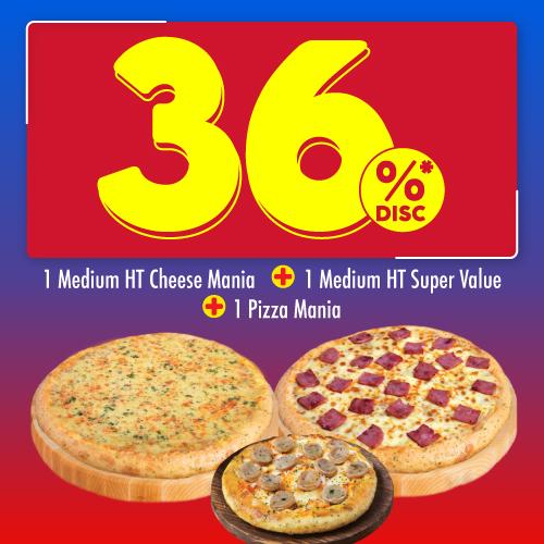3 Pizza 86 Ribuan