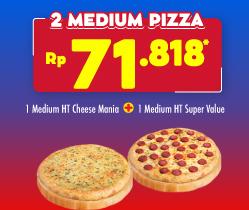 2 Pizza HANYA 71 Ribuan