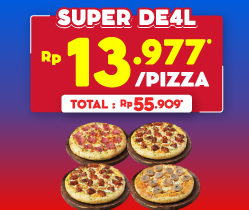 4 Pizza Mania 55 Ribu